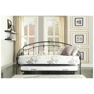 Vern Metal Daybed with Trundle