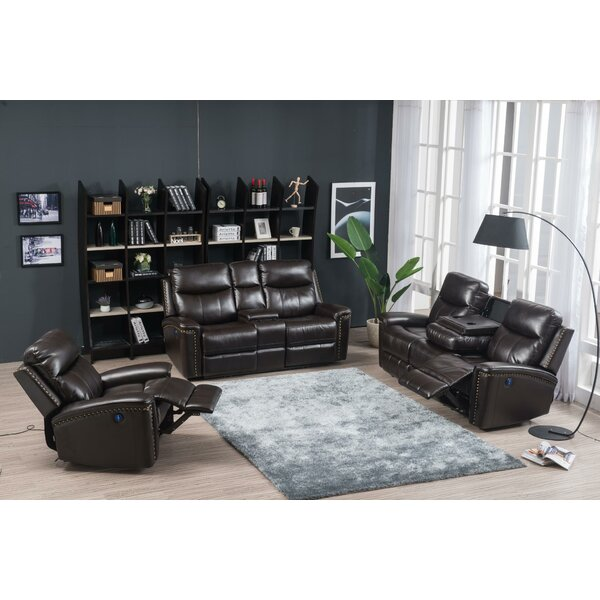 Tannis 3 Piece Reclining Living Room Set By Winston Porter