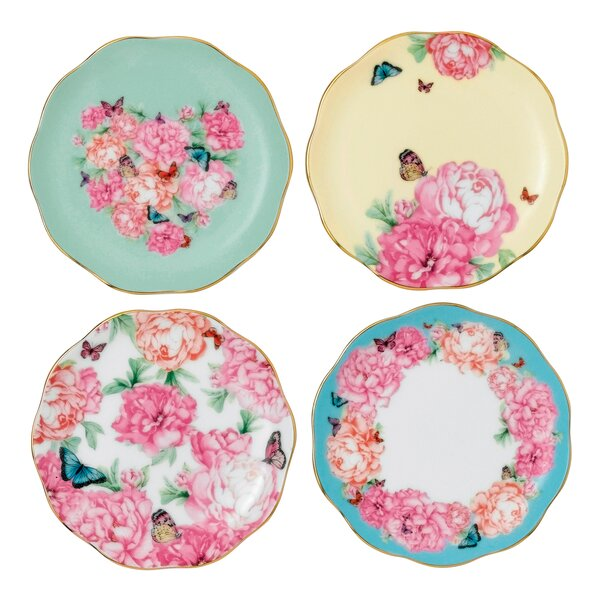 Miranda Kerr 3.9 Tidbit Accent Plate (Set of 4) by Royal Albert