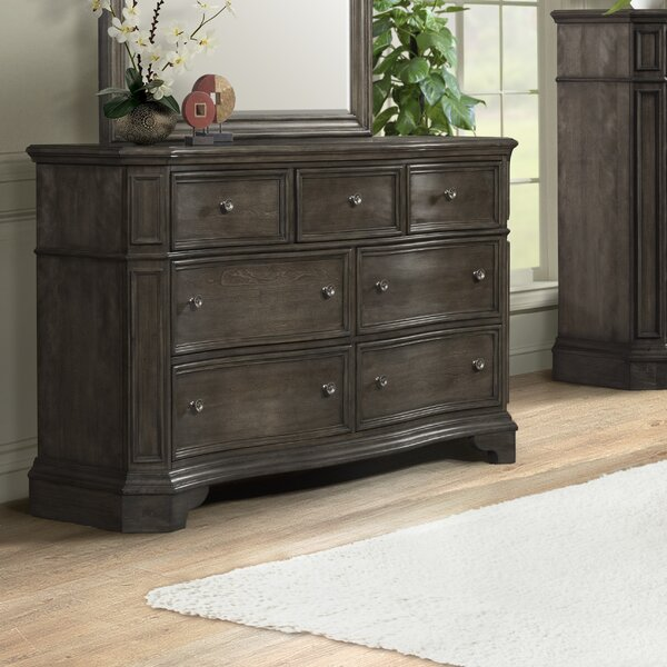Cairns 7 Drawer Double Dresser by Ophelia & Co.