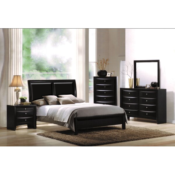 Malaika Sleigh Configurable Bedroom Set by Red Barrel Studio