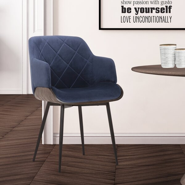 Brannum Upholstered Dining Chair by Wrought Studio