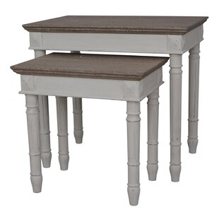 Clearance Madison 2 Piece Nesting Tables By August Grove