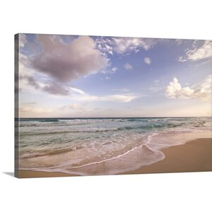 'Sky and Sea' by Aaron Matheson Photographic Print on Wrapped Canvas by Great Big Canvas