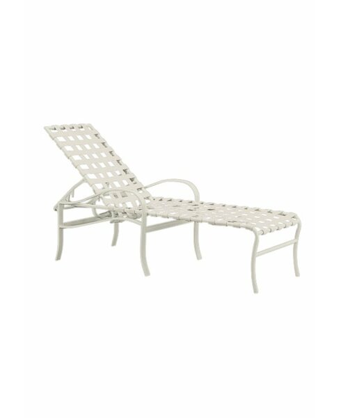 Palladian Reclining Chaise Lounge by Tropitone