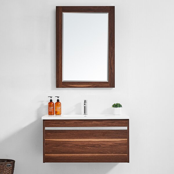 Adalynn 36 Single Bathroom Vanity with Mirror by Wrought Studio