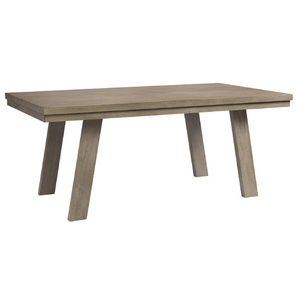 Pingree Solid Wood Dining Table by Brayden Studio
