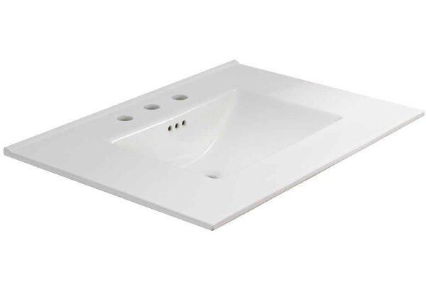 Flair Ceramic 31 Single Bathroom Vanity Top by American Imaginations