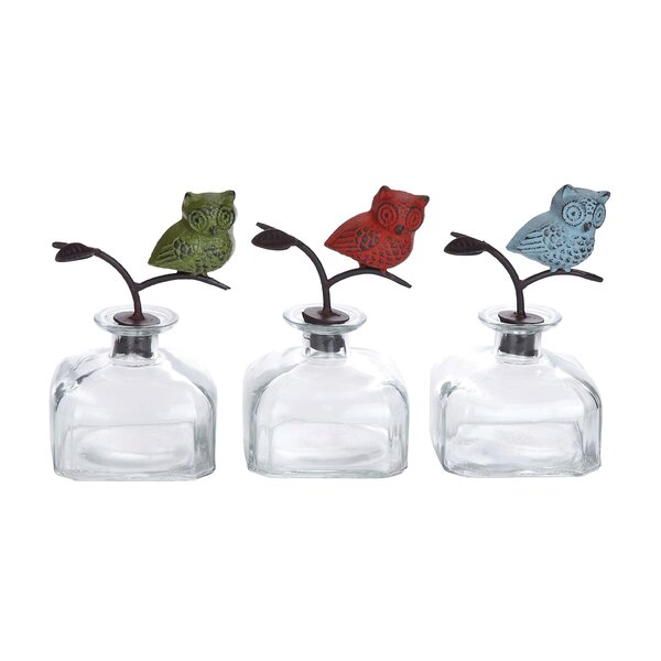 3 Piece Decorative Bottle Set (Set of 3) by Cole & Grey