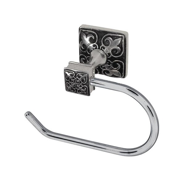 Fleur de Lis Wall Mounted French Toilet Paper Holder