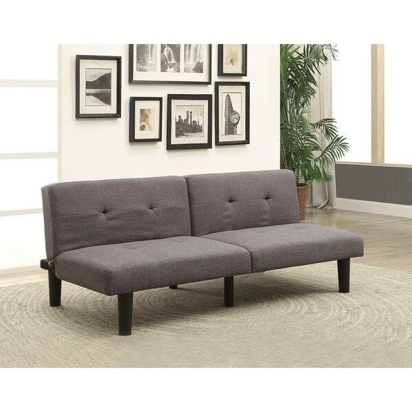 Onderdonk Adjusting Linen Convertible Sofa by Ebern Designs