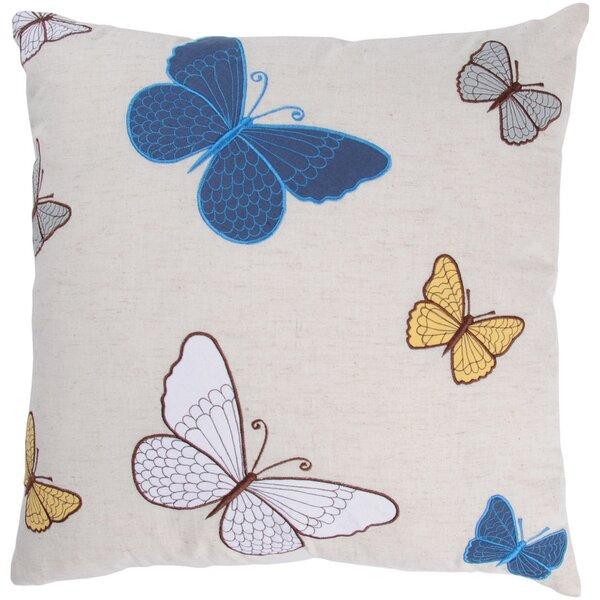 Belladonna  Decorative Cotton Throw Pillow by Wildon Home ®