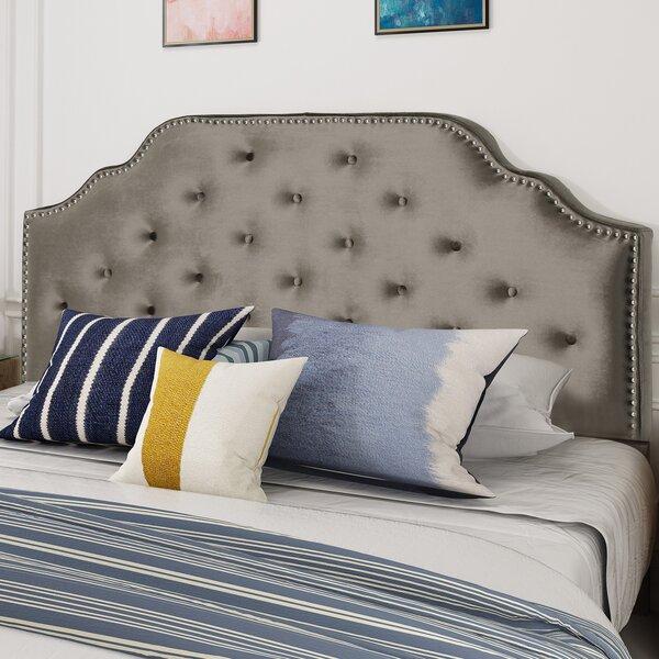 Castille Full/Queen Upholstered Panel Headboard By Charlton Home