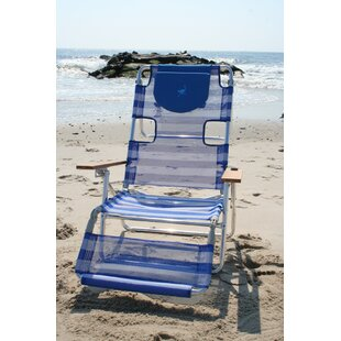 Beach Chair With Footrest | Wayfair