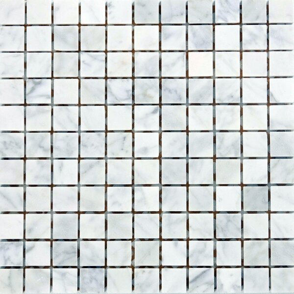 1 x 1 Marble Mosaic Tile in Italian Venatino by Epoch Architectural Surfaces