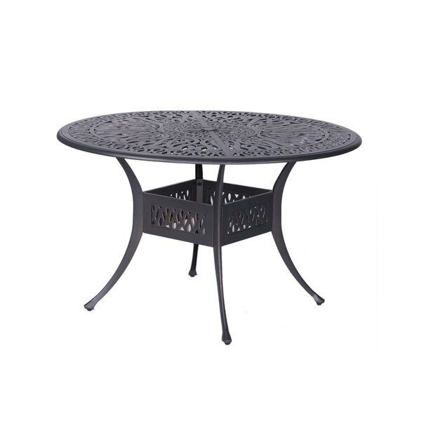 Bean Round Dining Table by Fleur De Lis Living