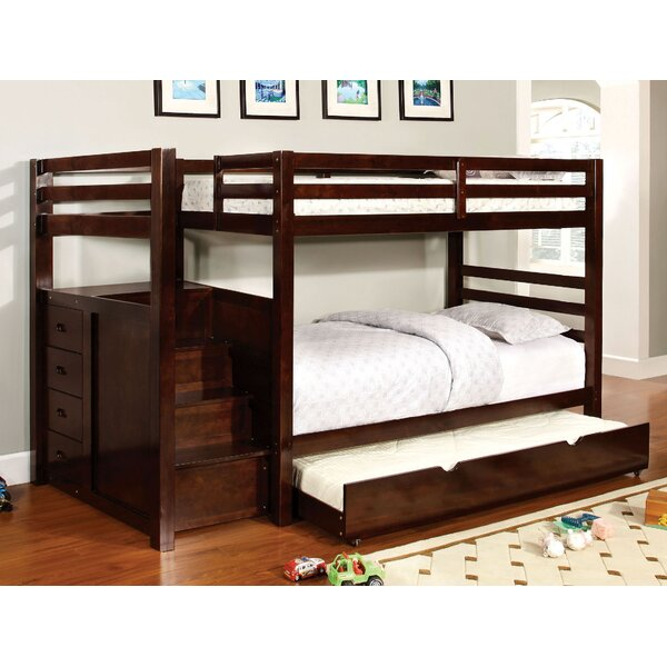 Farview Twin Over Twin Bunk Bed with Drawers by Harriet Bee
