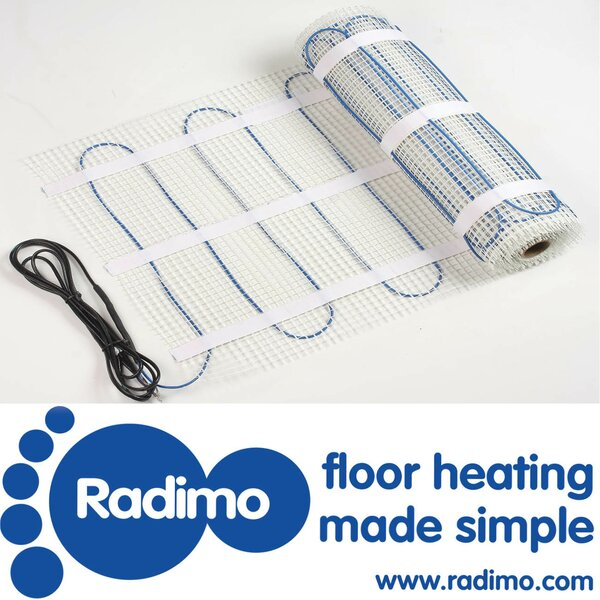 Radimat 120V Under Floor Heating System by Radimo