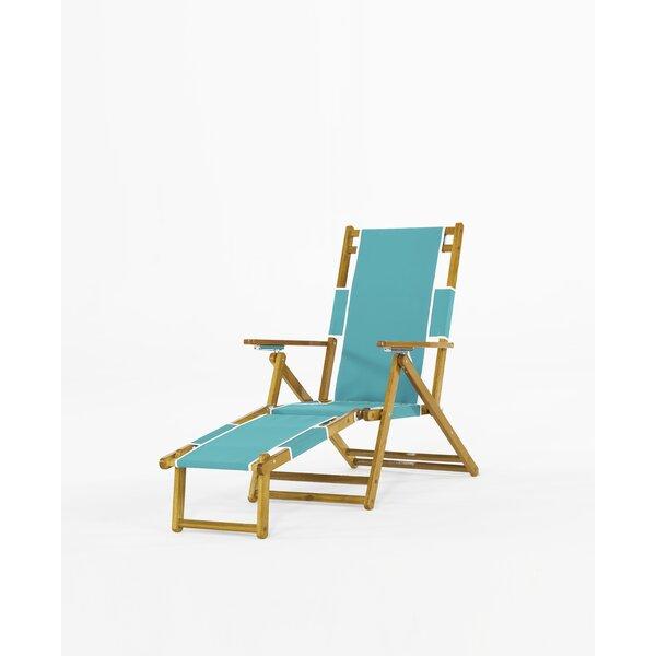 Portsville Reclining/Folding Beach Chair by Breakwater Bay Breakwater Bay