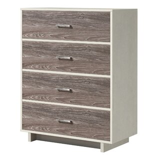 Hodedah Import 7 Drawer Chest Five Large Drawers Two Smaller With Locks Beech Kitchen Dining