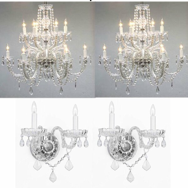Hadrian 12-Light Candle Style Classic / Traditional Chandelier by Astoria Grand Astoria Grand