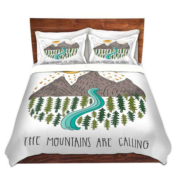 Mountains Are Calling Duvet Cover Set