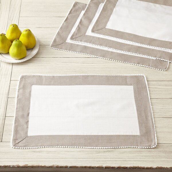 Becker Placemats (Set of 4) by Birch Lane™