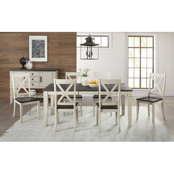Ridgley 7 Piece Extendable Solid Wood Dining Set by Gracie Oaks Gracie Oaks