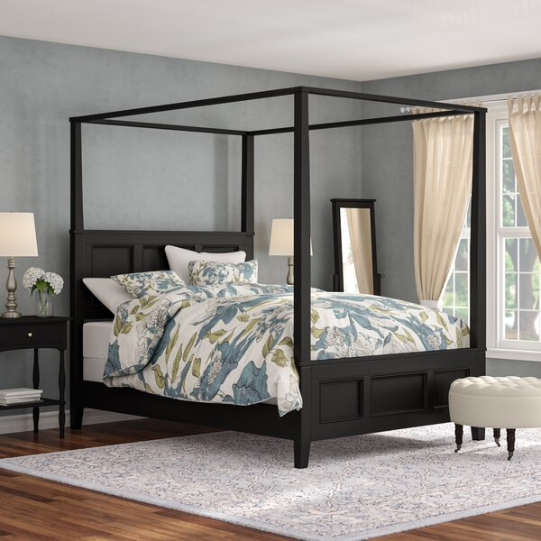 Marblewood Canopy 2 Piece Bedroom Set by Alcott Hill