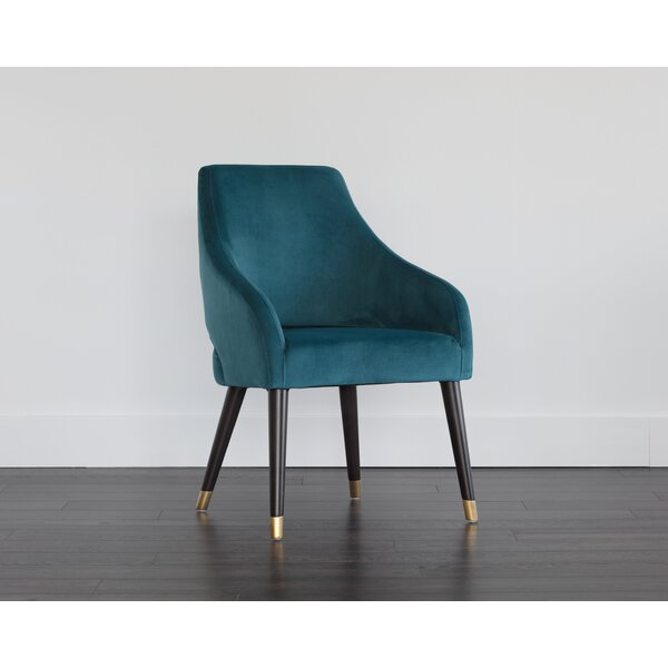 Kateri Upholstered Dining Chair by Everly Quinn Everly Quinn