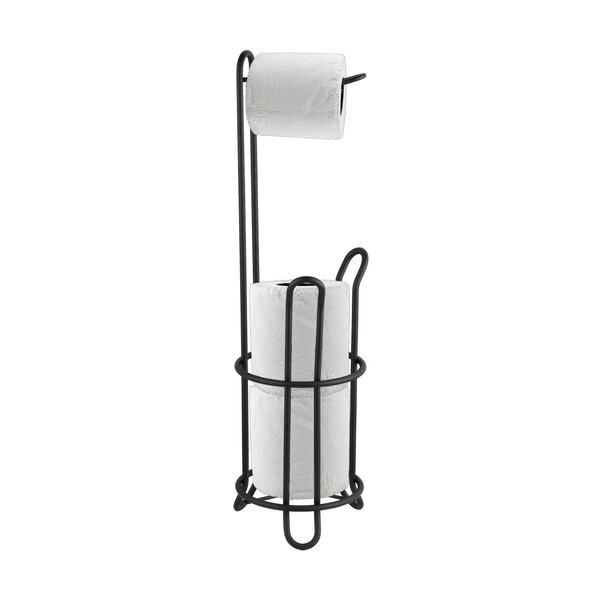 Free Standing Toilet Paper Holder by Home Basics