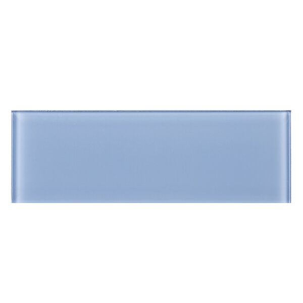 4 x 12 Glass Tile in Blue by Multile