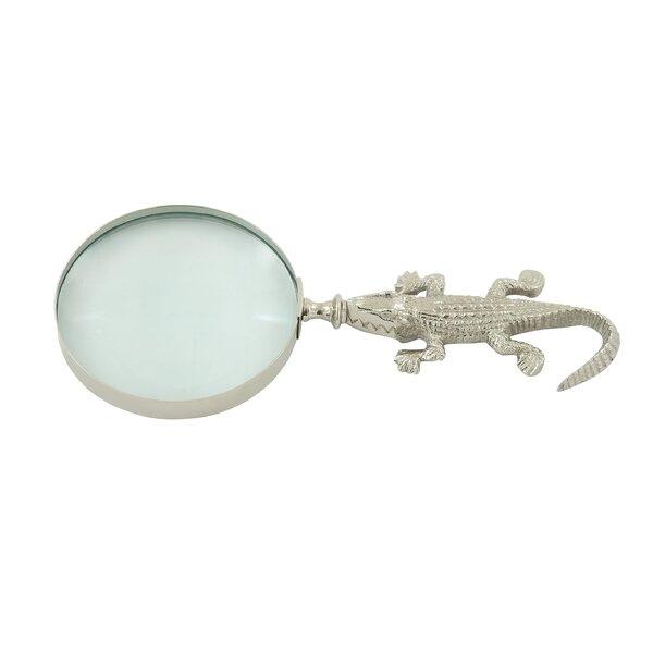 Mireya Decorative Magnifying Glass by Bay Isle Home