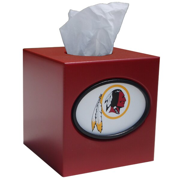 NFL Tissue Box Cover by Fan Creations