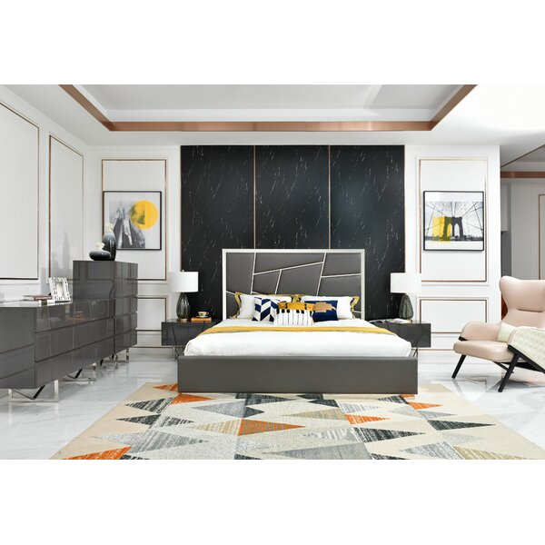 Marisol Modern 4 Piece Bedroom Set by Orren Ellis