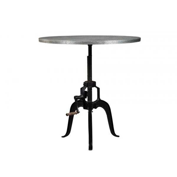 Baston Metal Crank Dining Table by Gracie Oaks