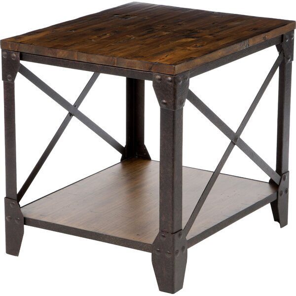 Cerny End Table by Gracie Oaks