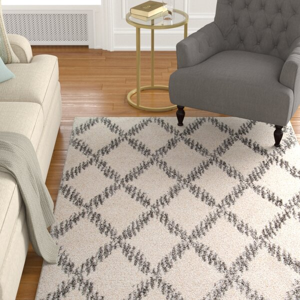 Johnsburg Ivory Area Rug by Alcott Hill