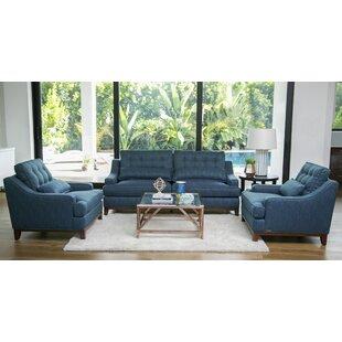 Blissfield Fabric Configurable Sofa Set
