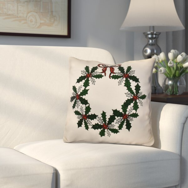 Decorative Holiday Throw Pillow by Three Posts