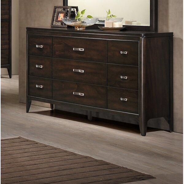 Babcock 9 Drawer Dresser by Orren Ellis