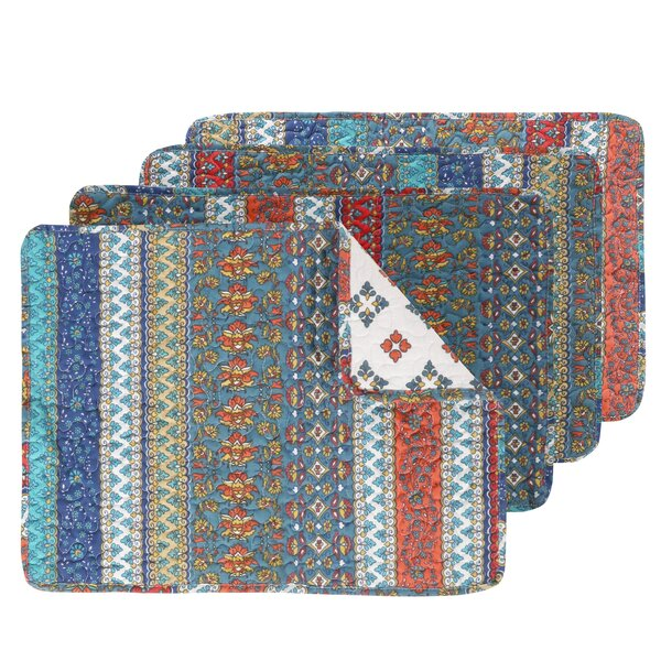 Woroud Placemat (Set of 4) by Bungalow Rose