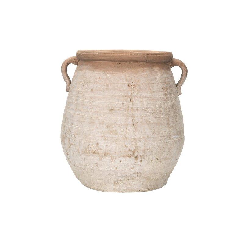 Poteet Large Terracotta Table Vase
