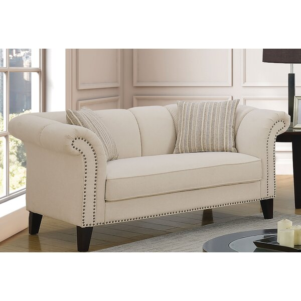 Fresh Elidge Loveseat by Rosdorf Park by Rosdorf Park