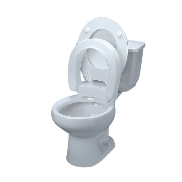 Elevated Round Toilet Seat by Fabrication Enterprises