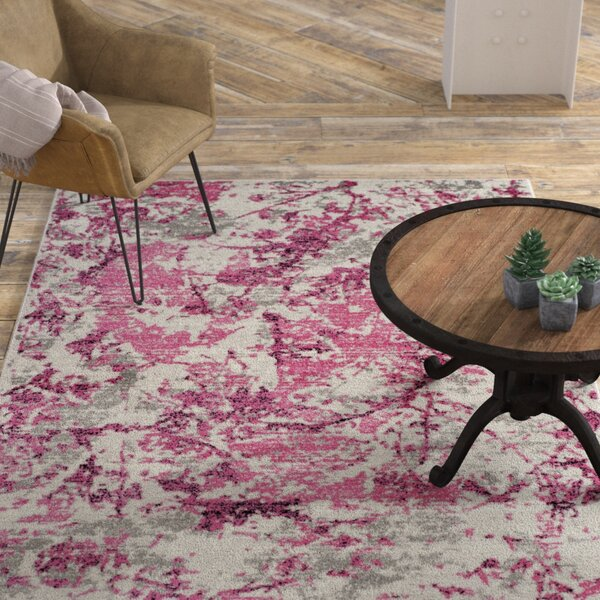 Despain Pink/Ivory Area Rug by Williston Forge