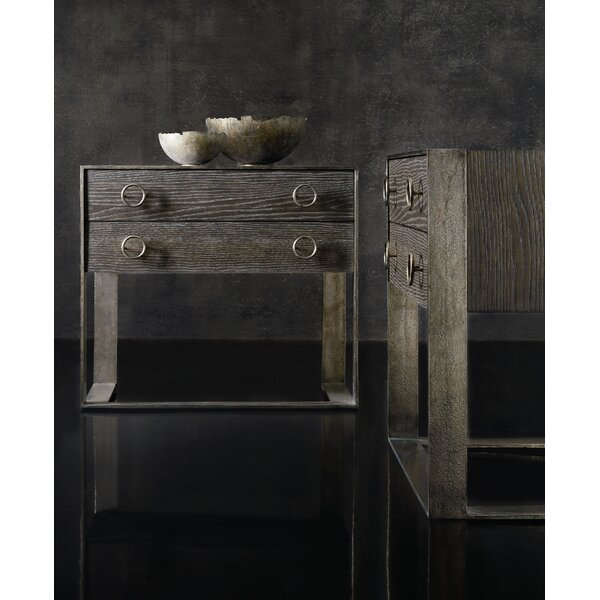 Dixon 2 Drawer Nightstand by Bernhardt