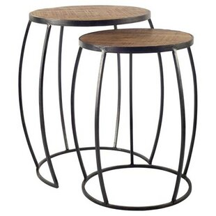 Find for Coolidge Brown 2 Piece Coffee Table Set by Williston Forge