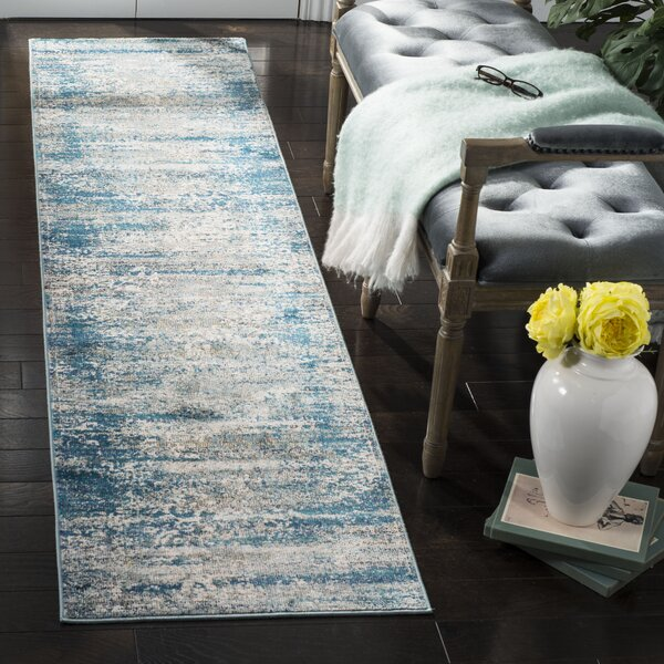 Monserrat Blue Area Rug by Mistana