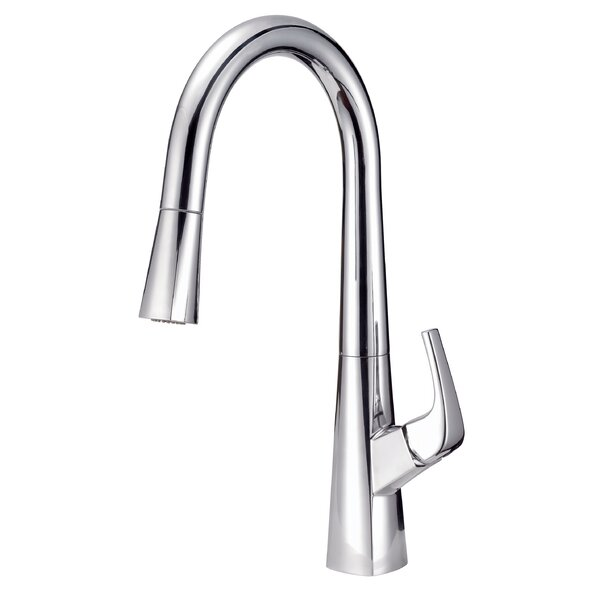 Vaughn Pull-Down Single Handle Kitchen Faucet with DockForce® Magnetic Docking Technology by Danze®